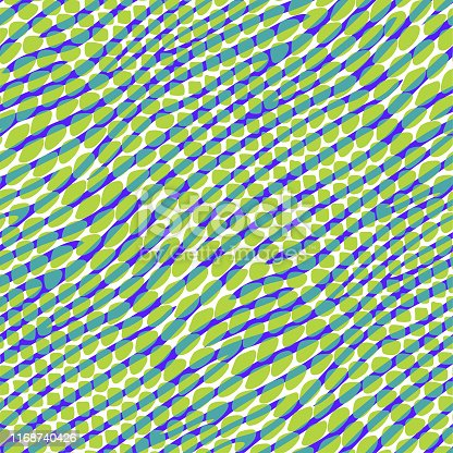 Fashionable seamless mixed animal pattern in bright colors.