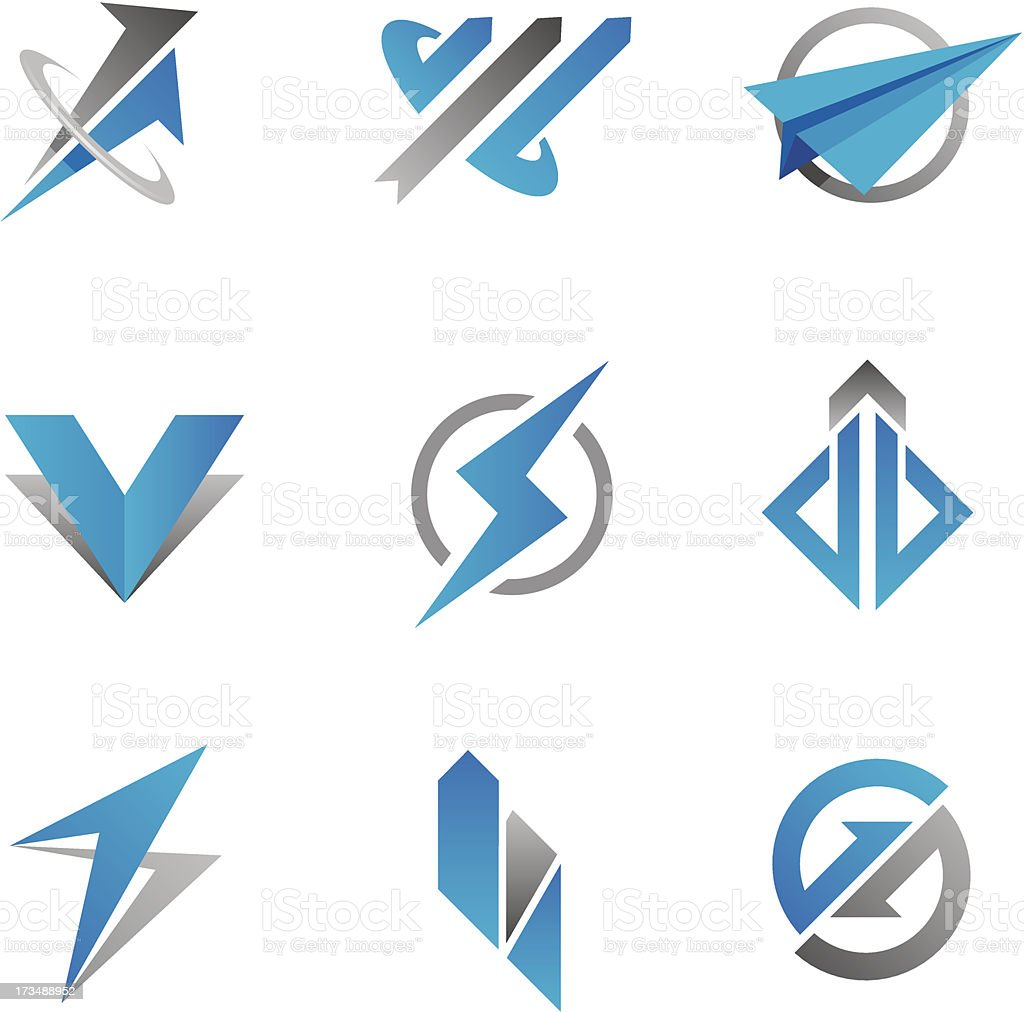 Fast business symbol vector art illustration