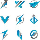 Fast business symbol