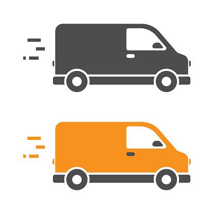 Fast Delivery Icon Vector Design.