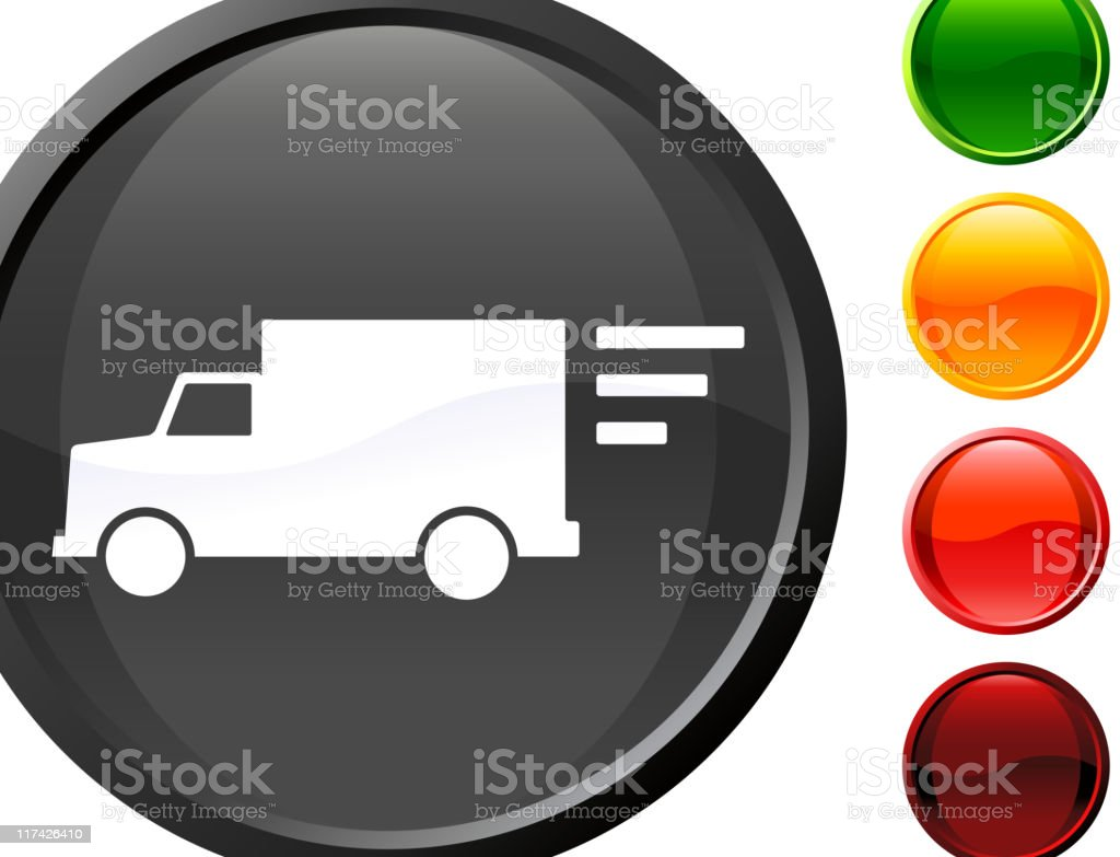 fast delivery truck internet royalty free vector art royalty-free stock vector art