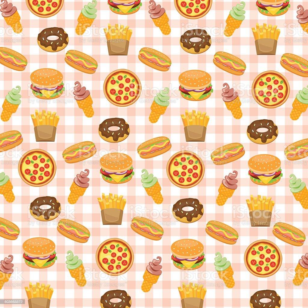 hamburger and fries wallpaper - photo #22