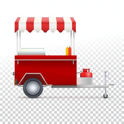 Fast food cart, street shop.
