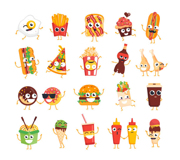 Best Animated Characters Illustrations, Royalty-Free Vector