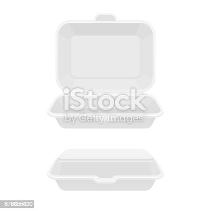 istock Fast food container box 876655620