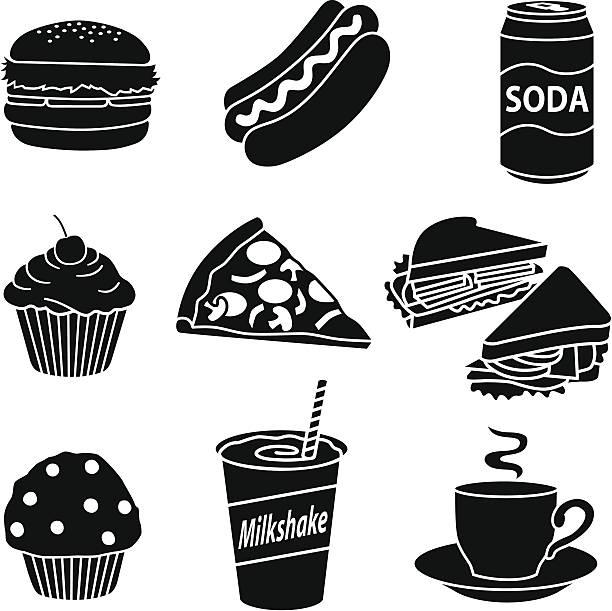 fast essen diät - scheibe portion stock-grafiken, -clipart, -cartoons und -symbole