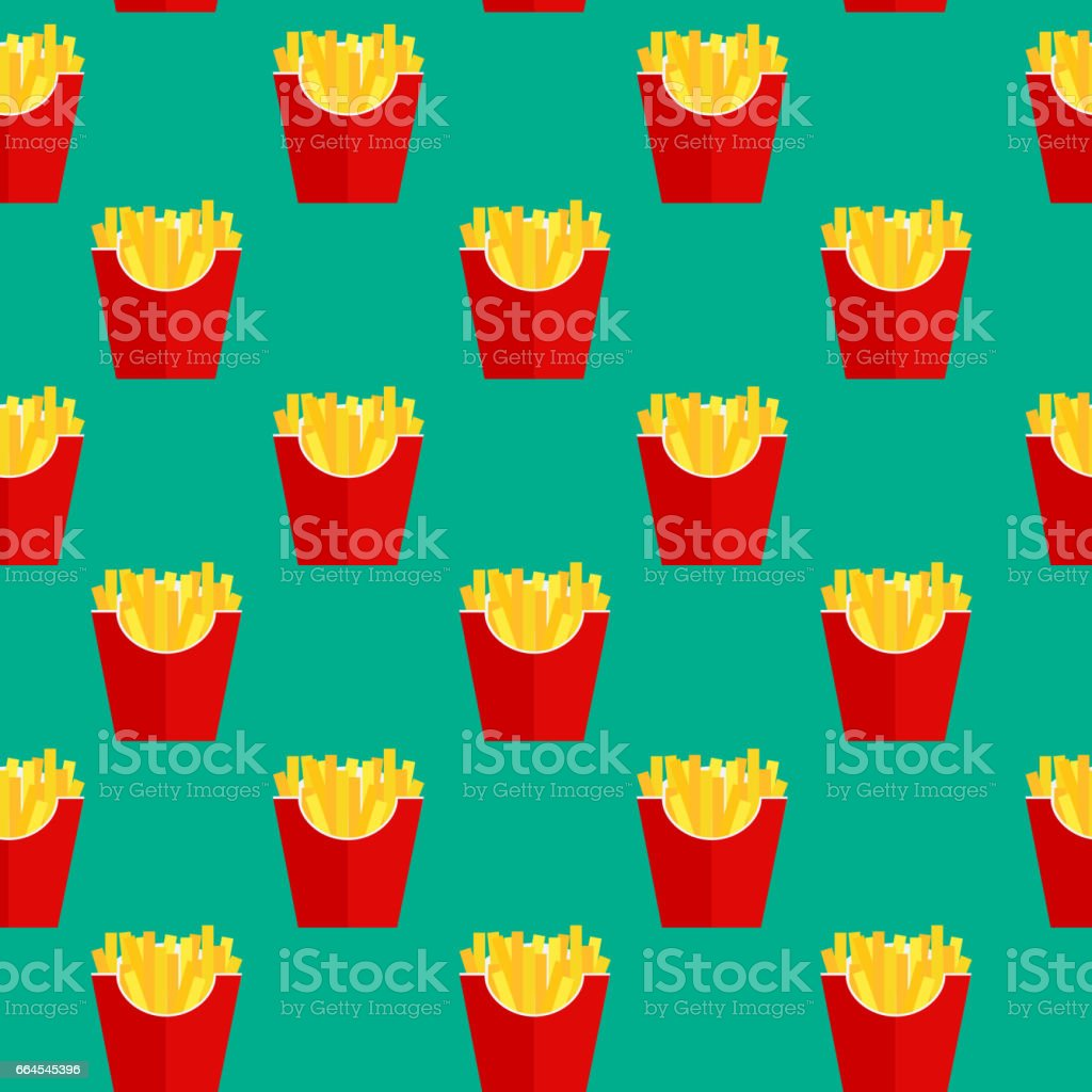Fast Food Fried French Gold Fries Potatoes in Paper Wrapper Seam royalty-free fast food fried french gold fries potatoes in paper wrapper seam stock vector art & more images of belarus