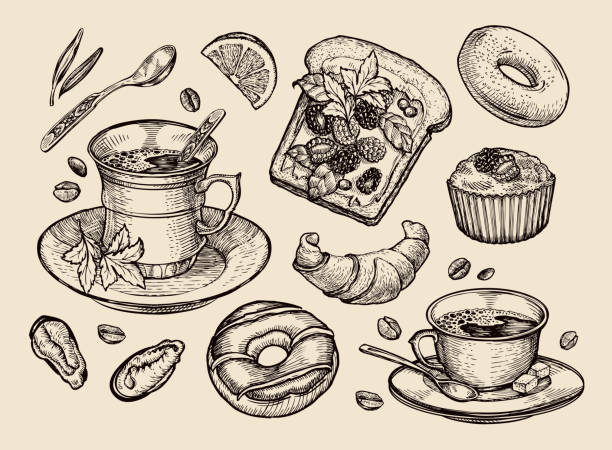 Best Bagel Illustrations, Royalty-Free Vector Graphics ...