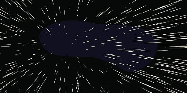 fast moving stars - space exploration stock illustrations, clip art, cartoons, & icons