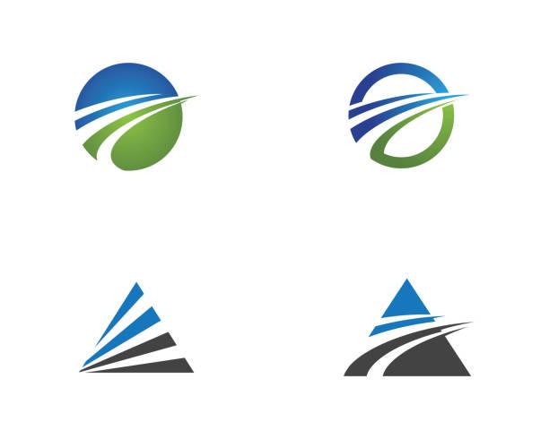 高速なロゴのテンプレート - 法人ビジネス点のイラスト素材/クリップアート素材/マンガ素材/アイコン素材