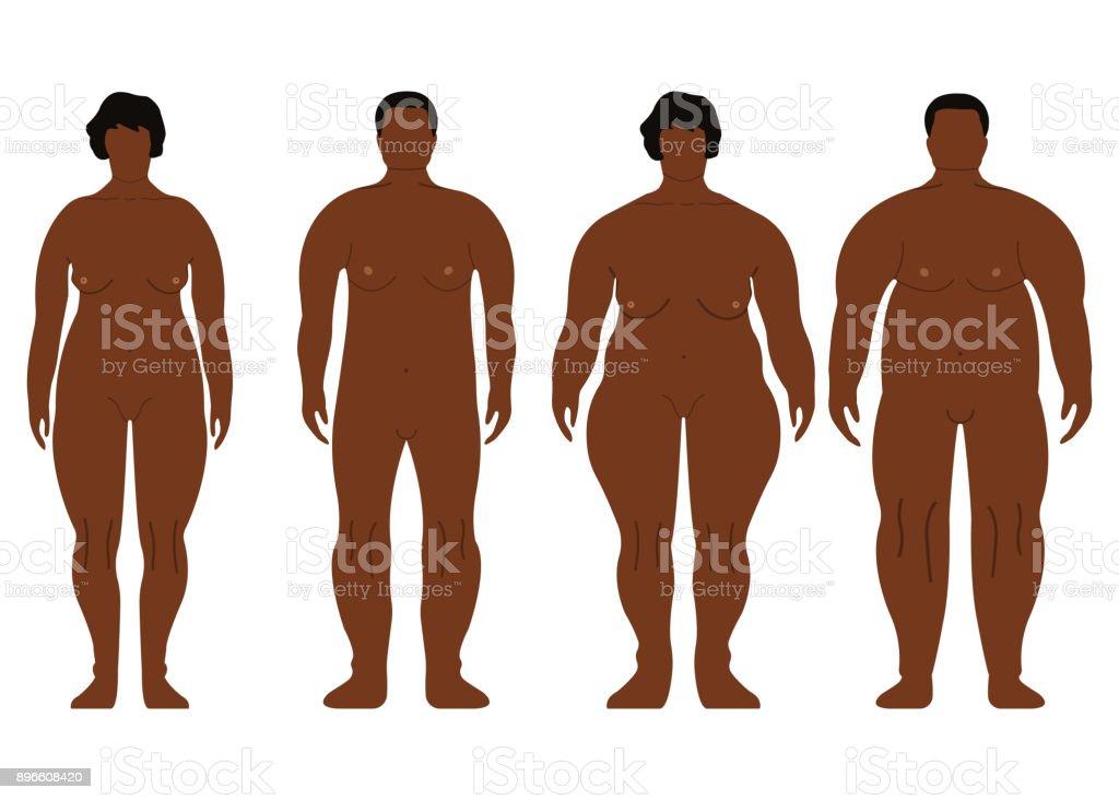 Große dicke afrikanische Männer Bild-Muschi