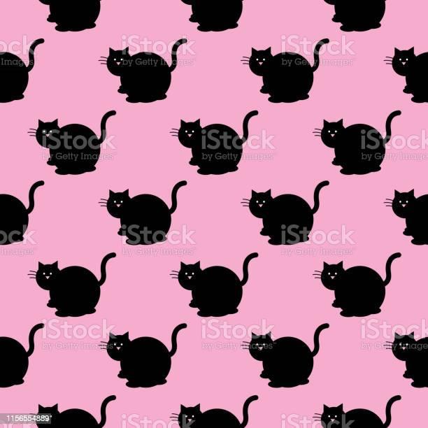 Fat black cat seamless pattern vector id1156554889?b=1&k=6&m=1156554889&s=612x612&h=ggz 3vfkzjor0j92jakjapelczp3azr ayyghffbx 8=