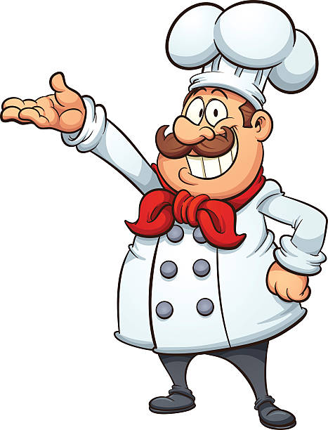 Free Cartoon Chef Vector Art