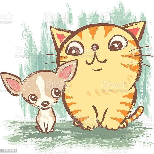 Fat cat and chihuahua vector id165729686?b=1&k=6&m=165729686&s=612x612&h=o7tvxlfqt6s8vt5iqcmtrseul fvnq0lj14nhs4h3oy=