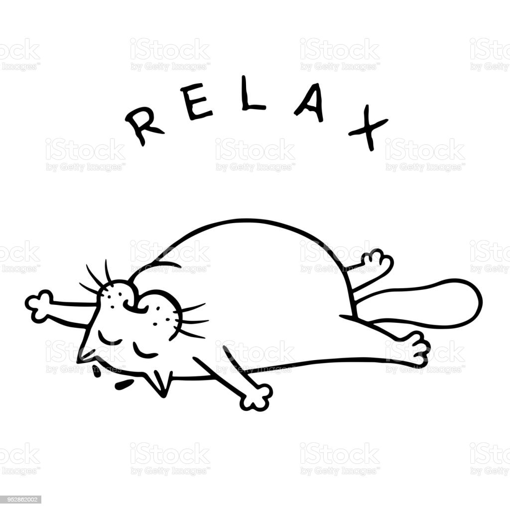 The Chalice of Wisdom - Part 2 - Page 19 Fat-cat-is-lying-down-and-relax-isolated-vector-illustration-vector-id952862002