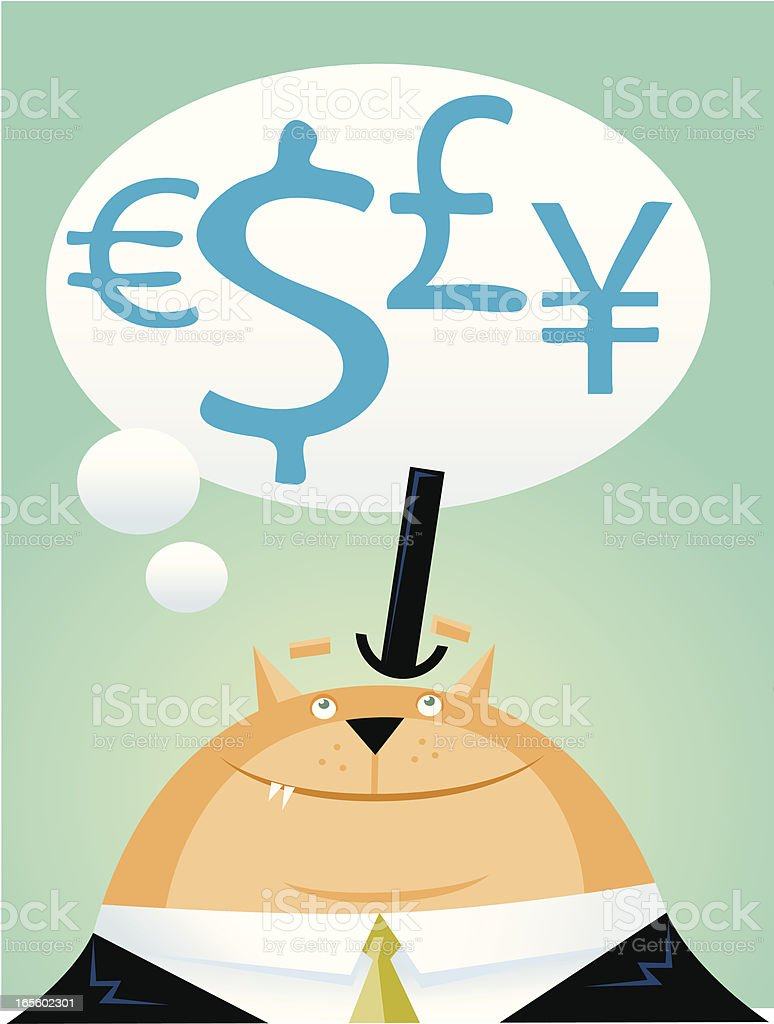 Fat Cat royalty-free fat cat stock vector art & more images of animal