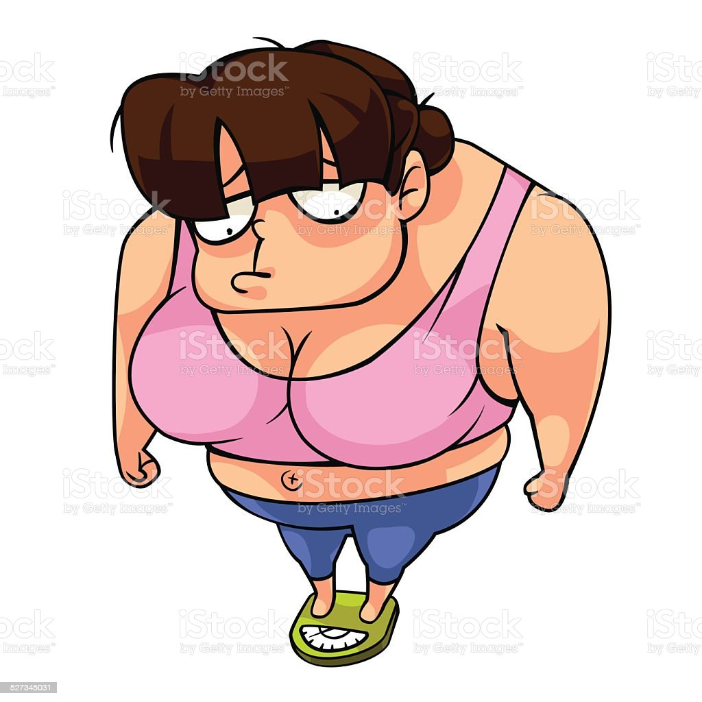 royalty free fat ugly girl cartoon clip art vector images rh istockphoto com ugly tv cartoon characters ugly disney cartoon characters