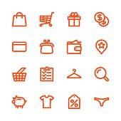 Fat Line Icons