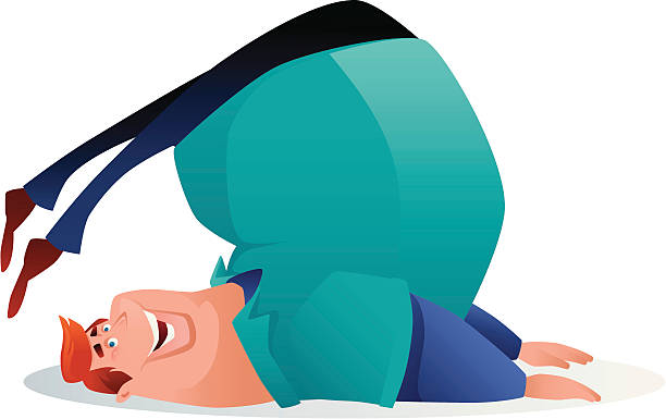 Best Funny Yoga Illustrations, Royalty-Free Vector ...
