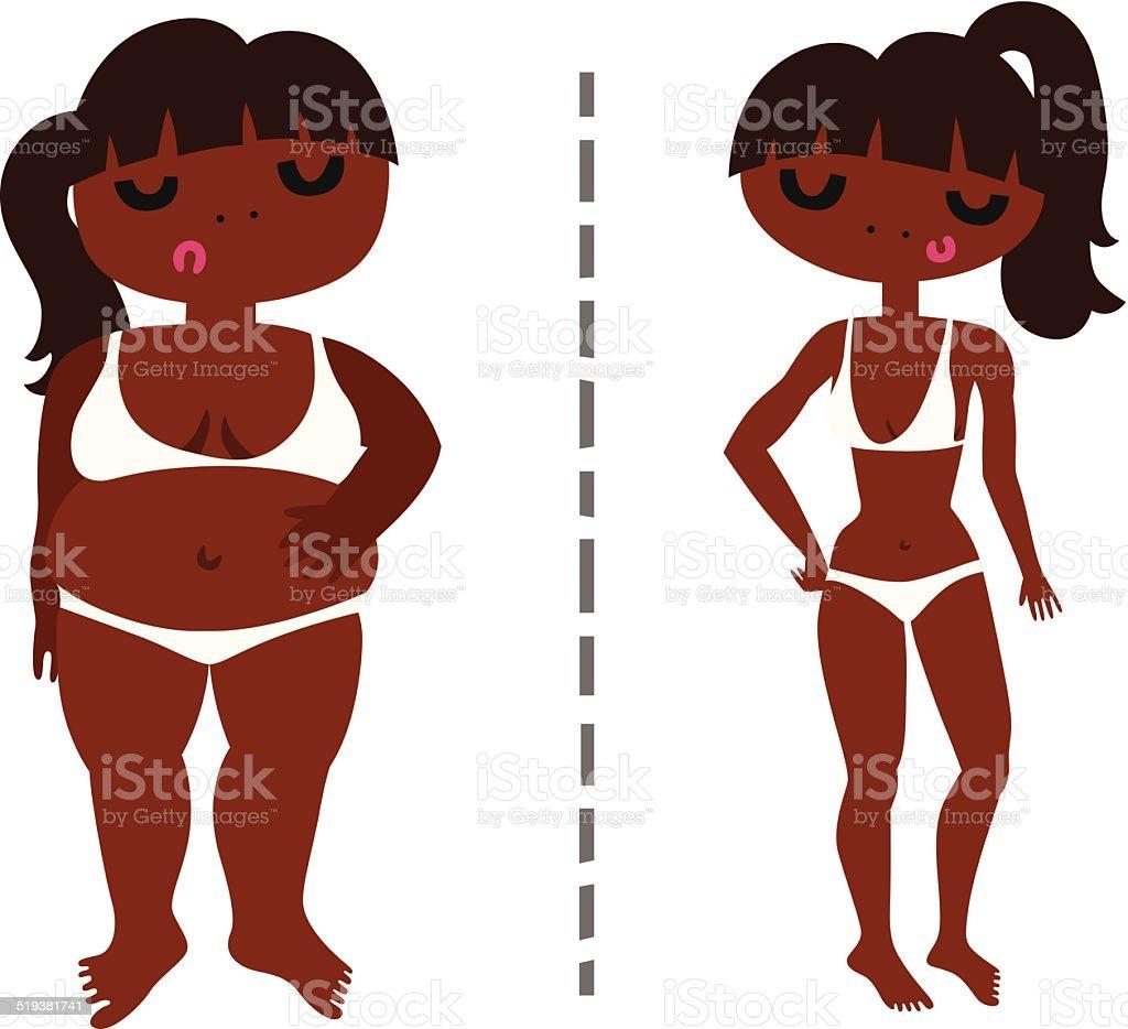 Fat black women in panties