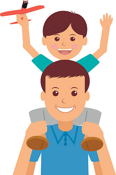 Royalty Free Stepfather Clip Art, Vector Images ...