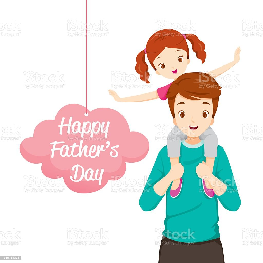 royalty free father daughter clip art vector images illustrations rh istockphoto com father daughter clipart father daughter dance clipart free