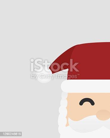 istock father christmas minimalist greeting postcard 1290245815