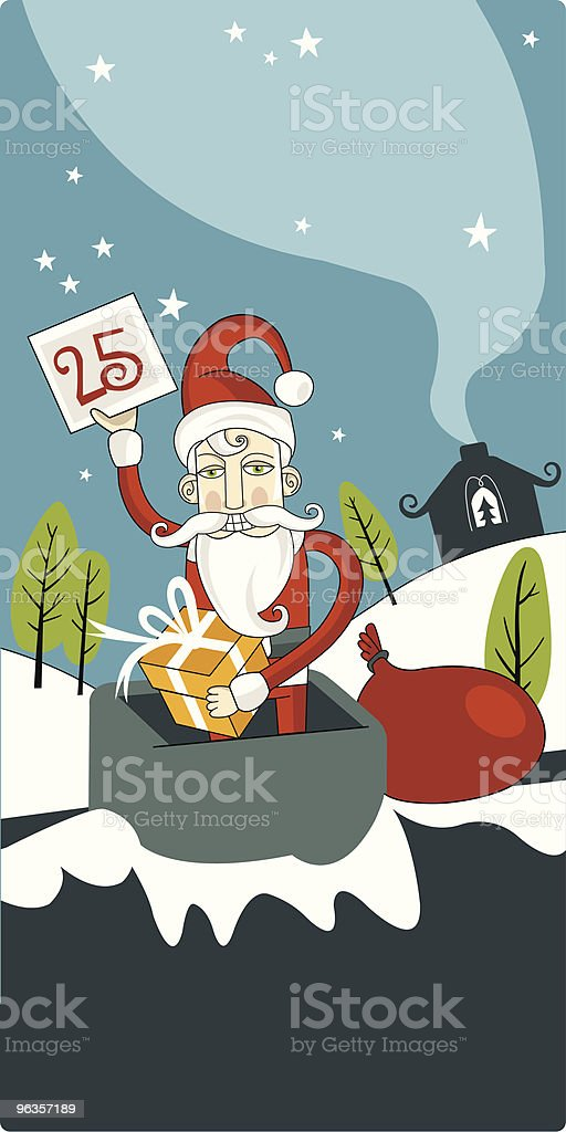 Father Christmas royalty-free father christmas stock vector art & more images of beard