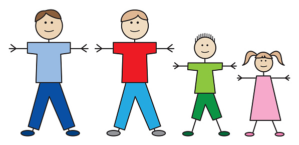Father Father Stick Family