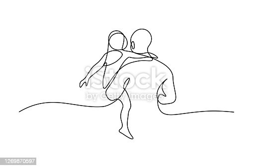 istock Father with daughter 1269870597