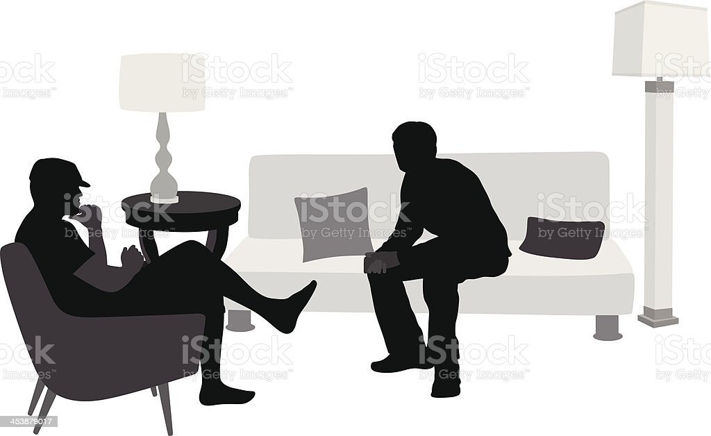 Father'n Son royalty-free stock vector art