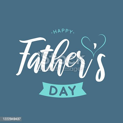 Father's Day background, poster. Vector illustration. EPS10