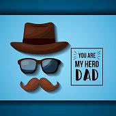 fathers day celebration card