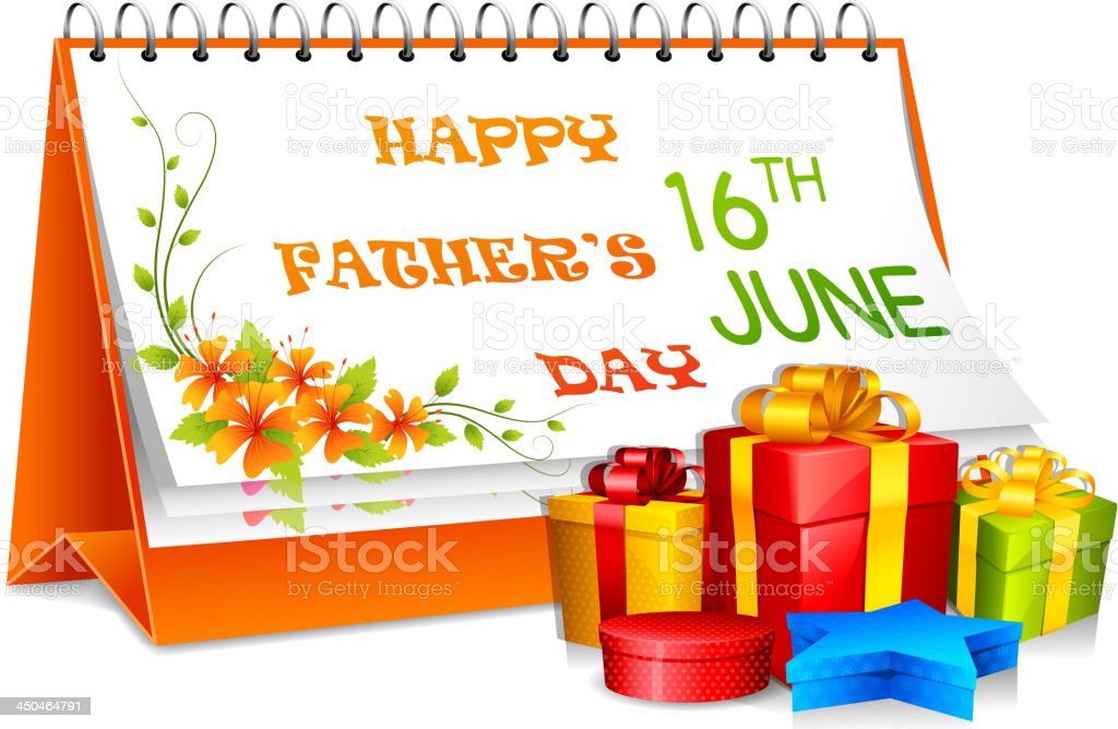 Father's Day Gift royalty-free stock vector art