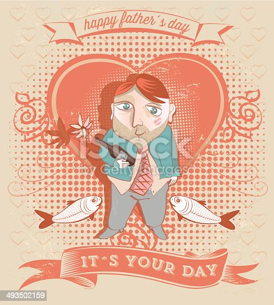 istock father´s day greeting card 493502159