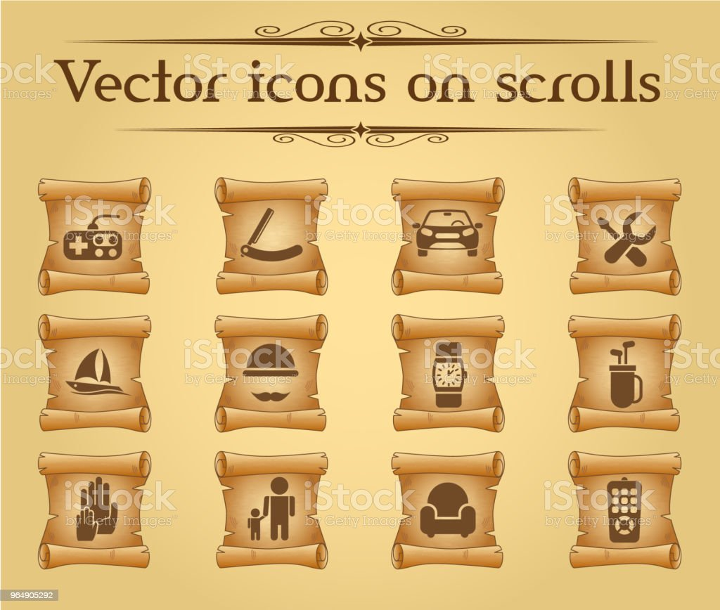 fathers day icon set royalty-free fathers day icon set stock vector art & more images of antique