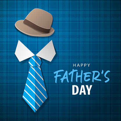 Father's Day Origami Hat & Tie