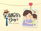 Father's day photo with pin