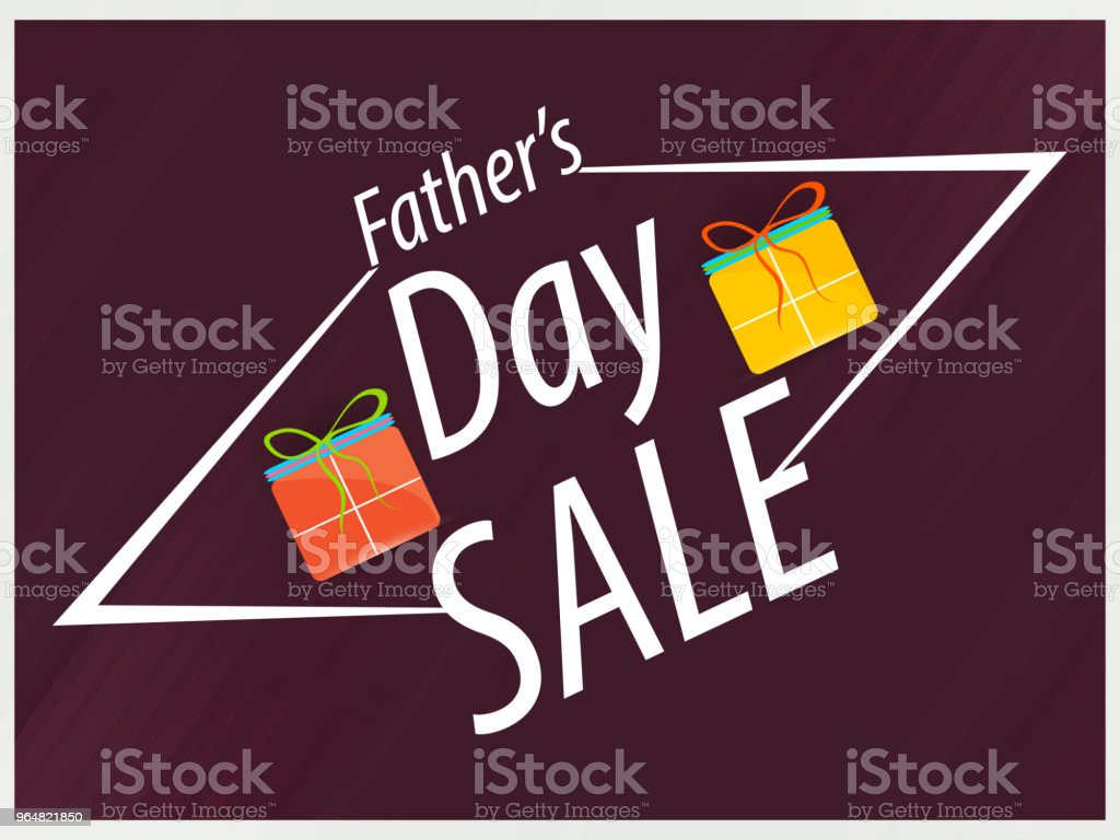 Father's Day Sale royalty-free fathers day sale stock vector art & more images of art