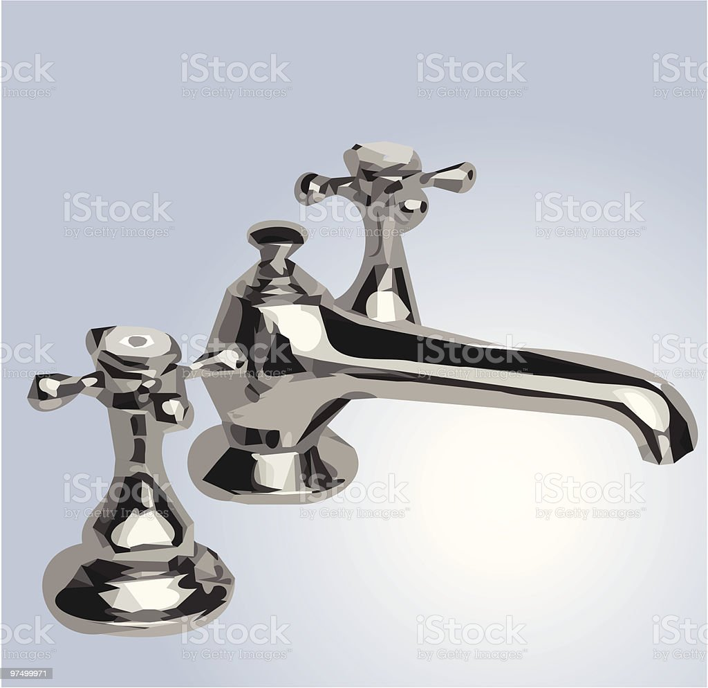 faucet royalty-free faucet stock vector art & more images of color image