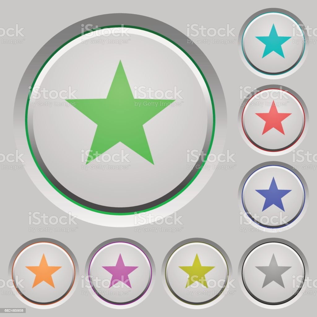Favorite push buttons royalty-free favorite push buttons stock vector art & more images of applying