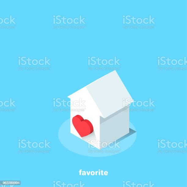 Ulubiony - Stockowe grafiki wektorowe i więcej obrazów Dom - Budowla mieszkaniowa