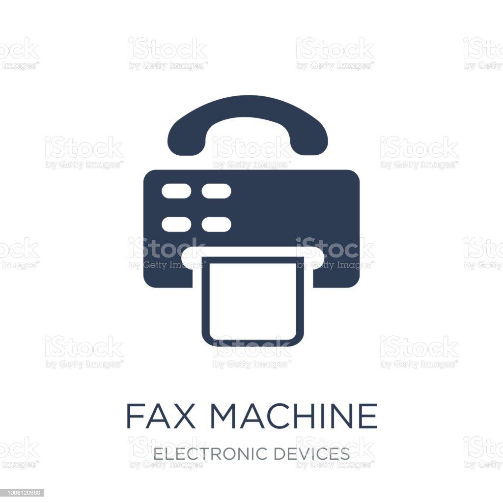fax machine icon trendy flat vector fax machine icon on white b stock illustration download image now istock fax machine icon trendy flat vector fax machine icon on white b stock illustration download image now istock