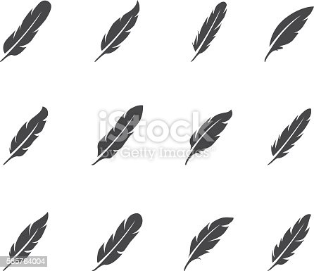 Feather icon set