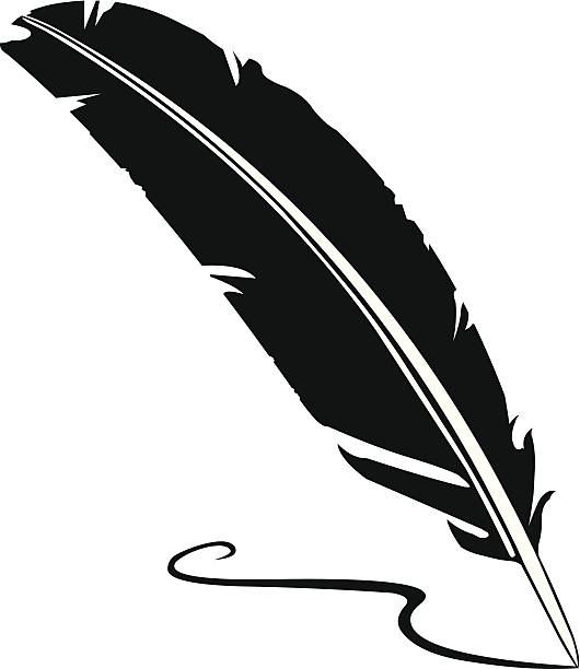 Quill Pen Clip Art, Vector Images & Illustrations - iStock