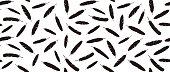 feather seamless pattern, vector illustration