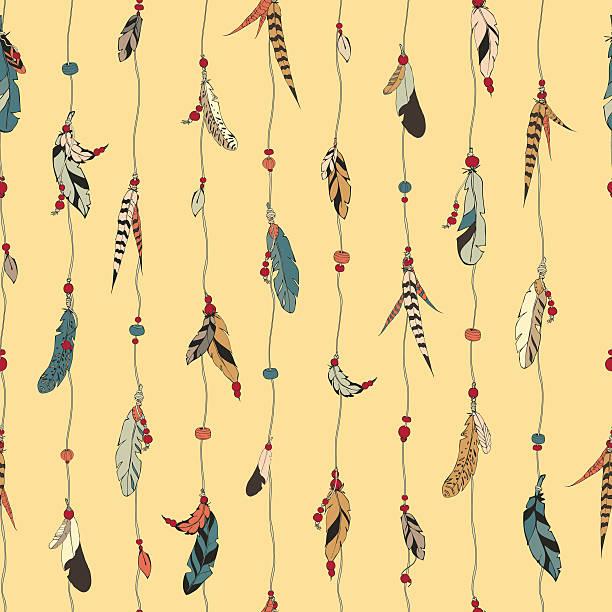 ilustrações de stock, clip art, desenhos animados e ícones de penas padrão - pena de pássaro algodão