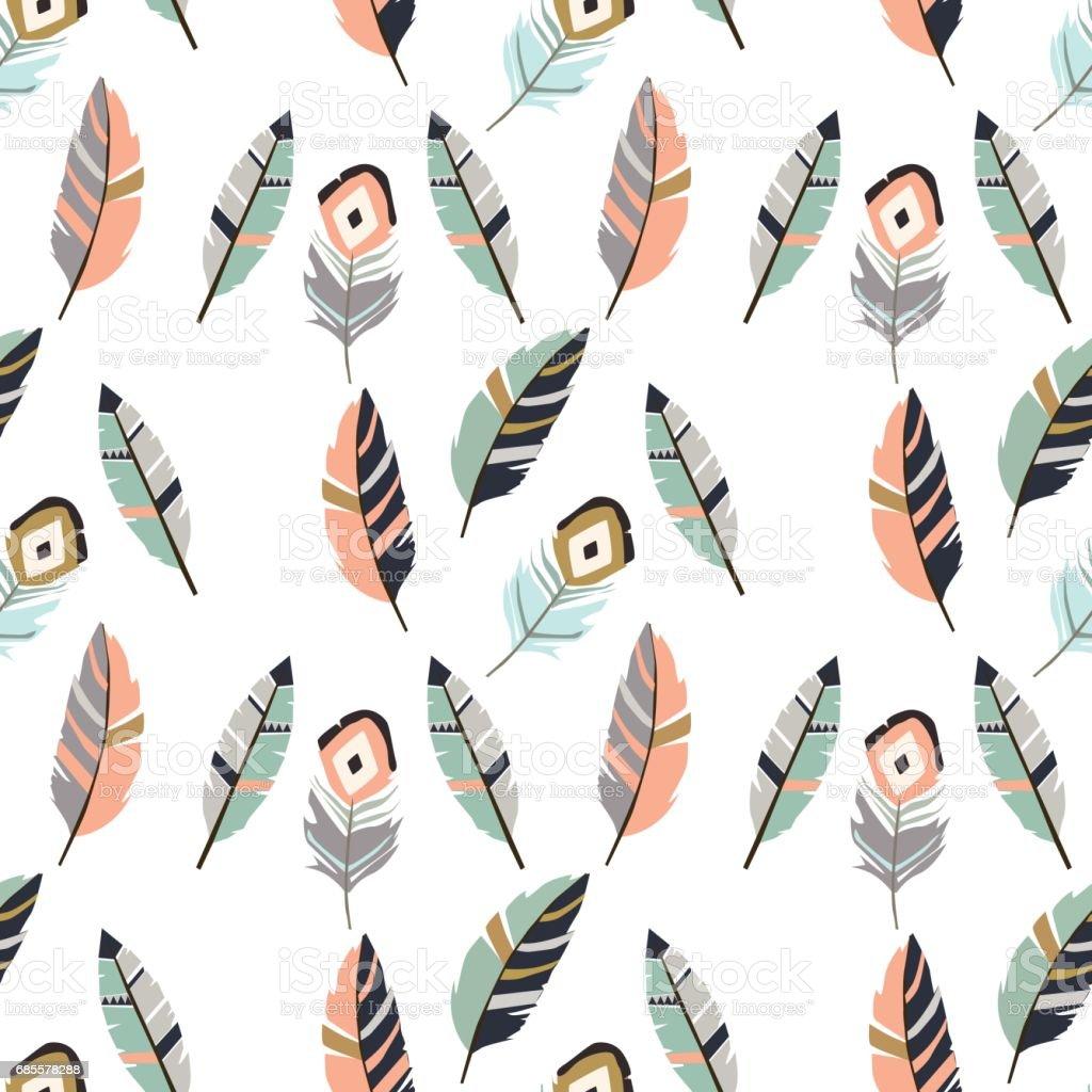 Feathers pattern royalty-free feathers pattern 0명에 대한 스톡 벡터 아트 및 기타 이미지