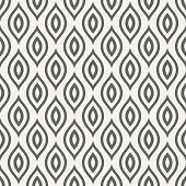 Abstract seamless pattern with stylized bird feathers. Repetition background for textiles, wrapping paper or wallpapers. Vector illustration.