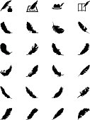 Feathers Vector Solid Icons 5